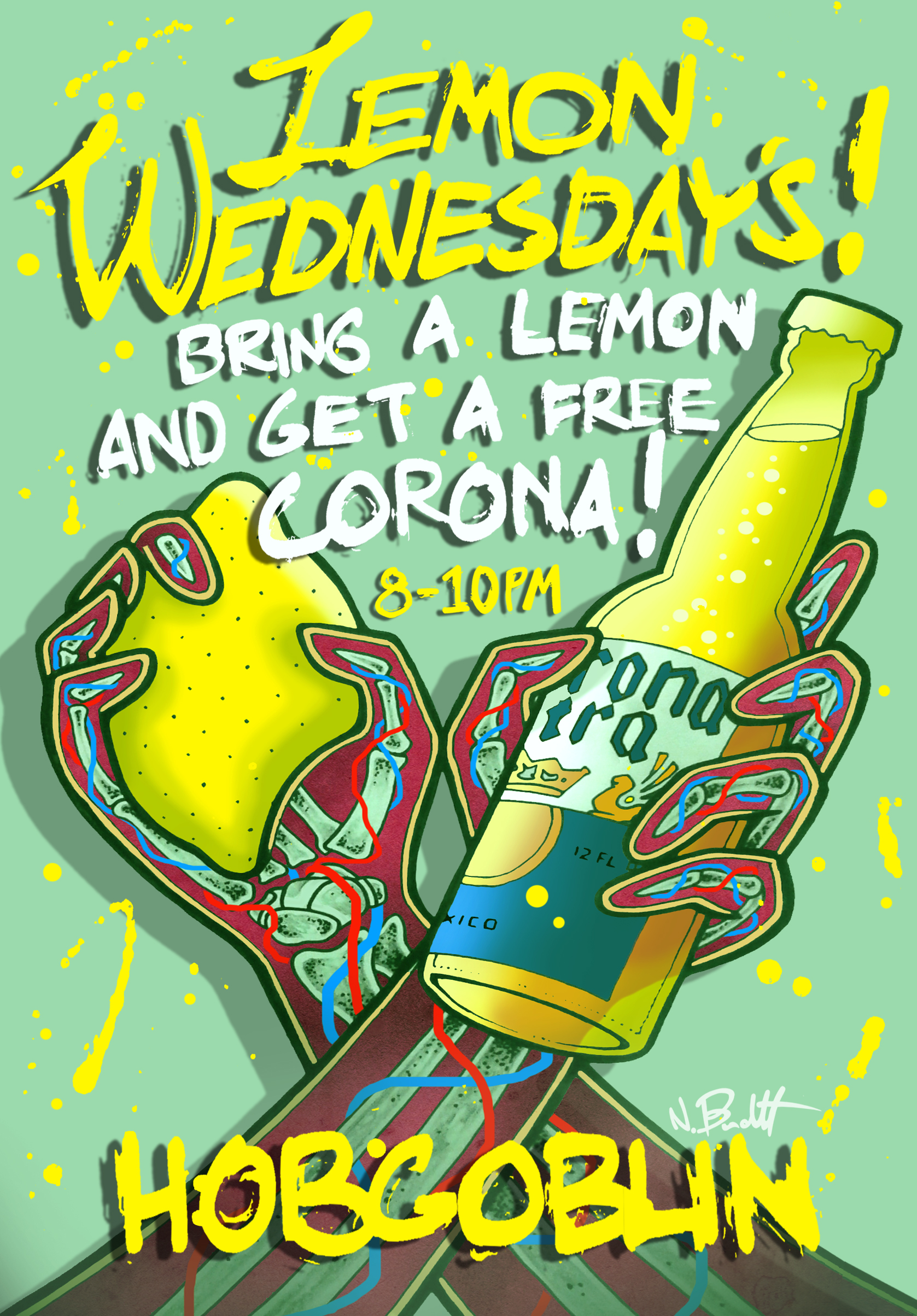 lEMON WED POSTER